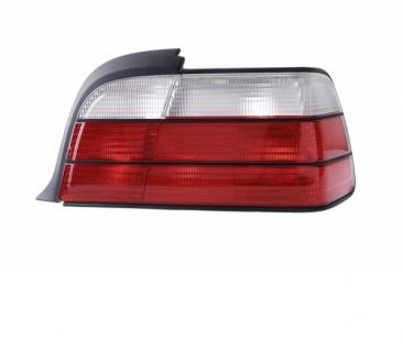 Rückleuchte / Heckleuchte weiß rechts TYC für BMW 3ER Coupe Cabrio E36 92-99
