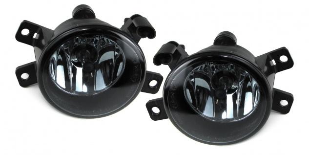 Klarglas Nebelscheinwerfer H8 schwarz smoke für BMW X1 E84 09-15