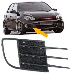 Nebelscheinwerfer Blende Rahmen Stoßstangengitter rechts für VW Golf 6 GTI 09-12