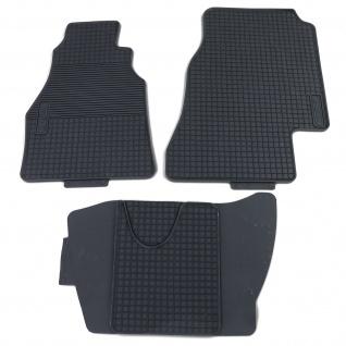 Premium Gummi Fußmatten Set 4-teilig Schwarz für Mercedes Sprinter 95-06