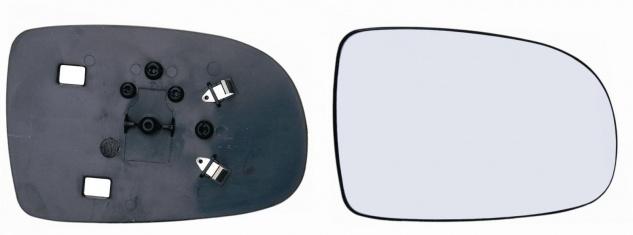 Spiegelglas rechts für Opel Corsa C 00-06