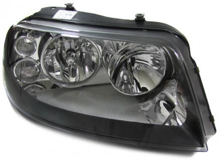 H7 H1 Scheinwerfer schwarz rechts für VW Sharan ab 2000