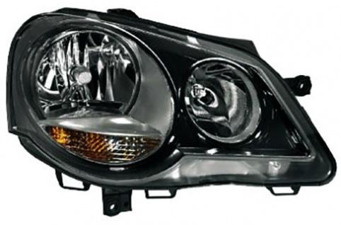 GTI Cup Scheinwerfer schwarz rechts für VW Polo 9N3 05-09
