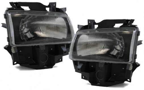 Scheinwerfer schwarz smoke für VW Bus T4 Caravelle Multivan 96-03