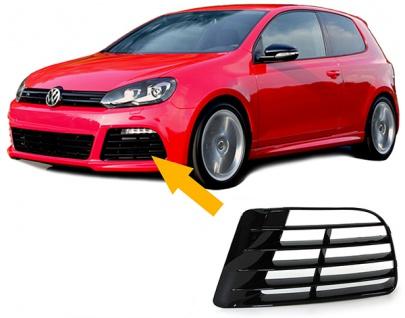 Blende Lüftungsgitter für R20 Stoßstange links für VW Golf 6 5K1 09-13