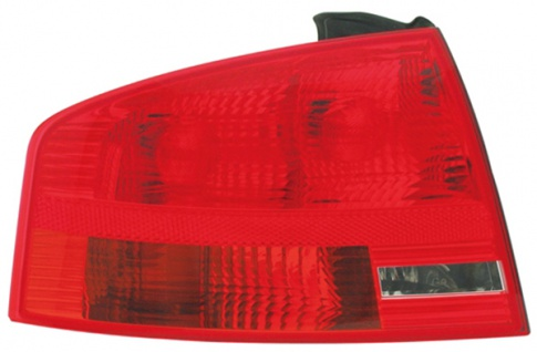 RÜCKLEUCHTE / HECKLEUCHTE LINKS TYC FÜR AUDI A4 Limousine 8E 04-08