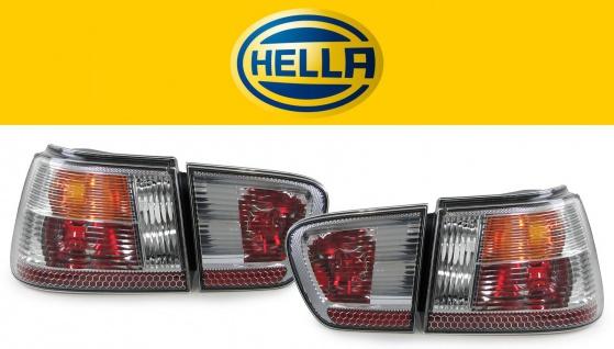 Original Hella Rückleuchten silber chrom für Seat Ibiza 6K Facelift 99-02