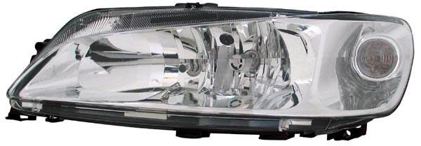 H7 / H7 Scheinwerfer links TYC für Peugeot 306 99-02