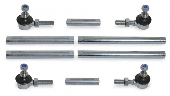 Stabilisator Koppelstangen Set universell verstellbar 15-20cm 22-27cm 27-32cm
