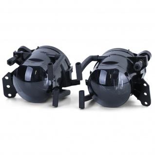 Klarglas Nebelscheinwerfer HB4 Schwarz Smoke für BMW X3 E83 04-06