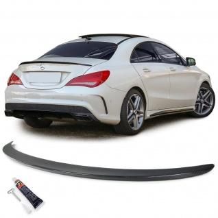 Echt Carbon Heckspoiler Spoilerlippe Sport Optik für Mercedes CLA C117 ab 13