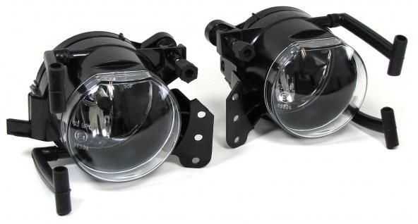 Klarglas Nebelscheinwerfer Set klar chrom für BMW 3ER E46 Coupe Cabrio 03-06