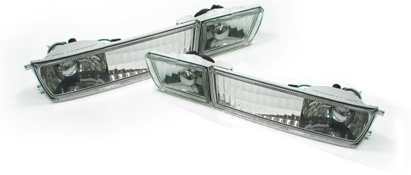 Klarglas Blinker + Nebelscheinwerfer - Set für VW Golf 3 91-97 - Vorschau 2