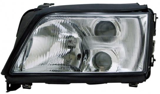 H1 / H1 / H3 Scheinwerfer links TYC für Audi A6 C4 94-97