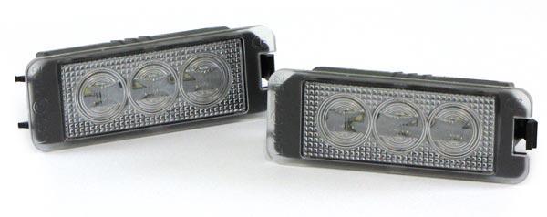 LED Kennzeichenbeleuchtung High Power weiß 6000K für VW Passat B6 B7 - Vorschau 2