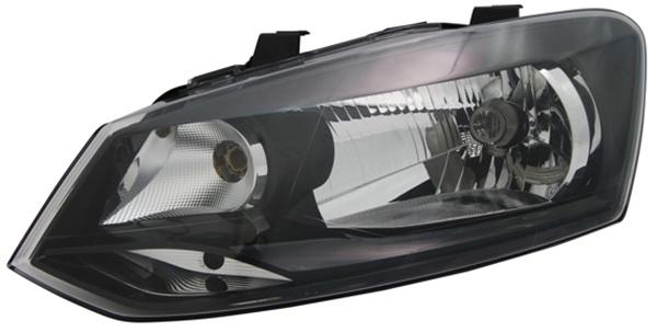 H4 Scheinwerfer links TYC für VW Polo 6R 09-