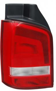 Rückleuchte / Heckleuchte rot klar links TYC für VW Bus Transporter T5 09-