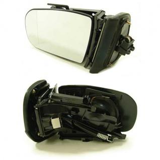 Außenspiegel elektr.+beh links für Mercedes W210 99-02