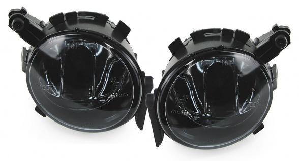 Klarglas Nebelscheinwerfer HB4 schwarz smoke für Seat Ibiza V Altea Toledo ab 08