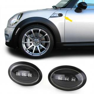 LED Seitenblinker schwarz für Mini Cooper R56