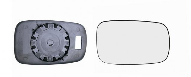 Spiegelglas rechts für Renault Scenic II 03- - Vorschau