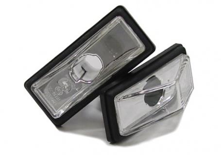 Klarglas Seitenblinker chrom für FIAT Uno 83-89