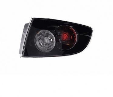 Rückleuchte / Heckleuchte Aussen schwarz rechts TYC für Mazda 3 Limousine BK