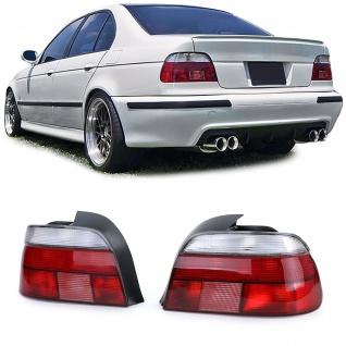 Rückleuchten Rot Weiß Paar für BMW 5er E39 Limousine 95-00