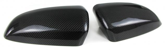 Echt Carbon Spiegelkappen zum Austausch für BMW X5 E70 06-13 X6 E71