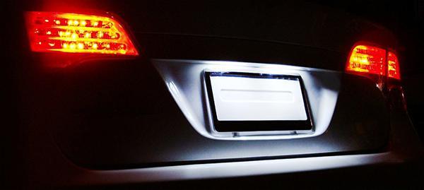 LED Kennzeichenbeleuchtung weiß 6000K für Volvo V50 S60 S80 V70 XC60 XC70 XC 90 - Vorschau 2