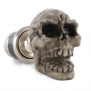 Zigaretten Anzünder Totenkopf Skull Real Look
