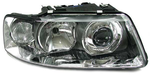 Facelift DE H7 H1 Klarglas Scheinwerfer rechts für Audi A3 - Vorschau