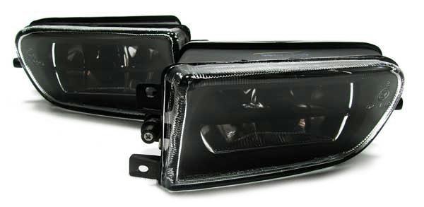 H7 Nebelscheinwerfer Klarglas schwarz - Paar für BMW E39 95-00 + Z3