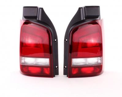 Rückleuchten Schwarz Smoke Paar für VW T5 Bus Transporter Multivan ab 09