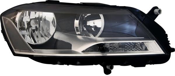 H7 / H7 SCHEINWERFER RECHTS TYC FÜR VW Passat 362 365 10-