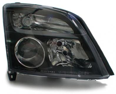 Schwarze Klarglas Scheinwerfer rechts für Opel Vectra C + Signum