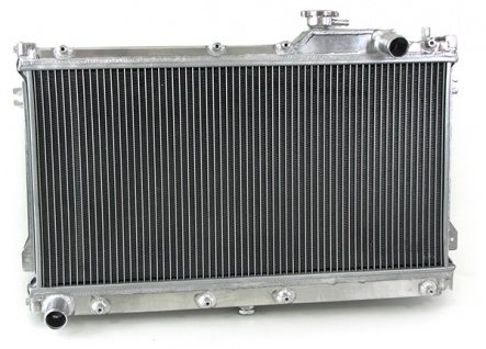 Alu Wasser Kühler für Mazda MX5 90-97