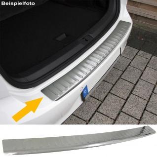 Ladekantenschutz Stoßstangenschutz Edelstahl matt für Mercedes C Klasse S204