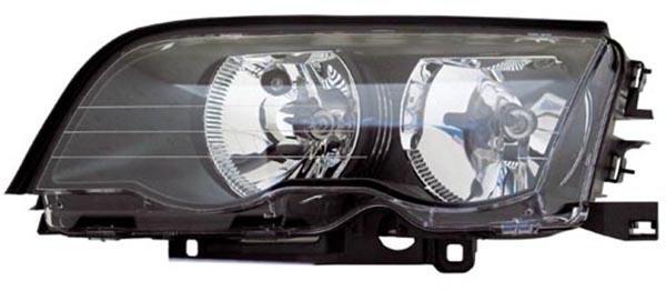 H7 / H7 Scheinwerfer schwarz links TYC für BMW 3ER Limousine Touring E46 98-01