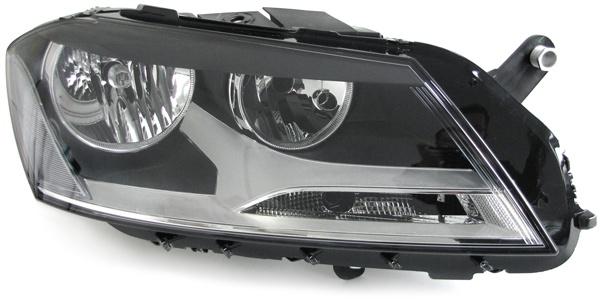 H7 H7 Scheinwerfer rechts für VW Passat B7 Typ 36 ab 10