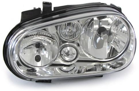 Scheinwerfer ohne Nebelscheinwerfer links H7 H1 für VW Golf 4 97-03 - Vorschau 2
