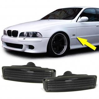 Schwarze Seitenblinker für BMW 5er E39