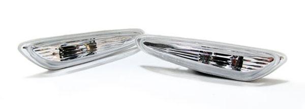 Klarglas Seitenblinker Clear für BMW 3er E46 X3 E83