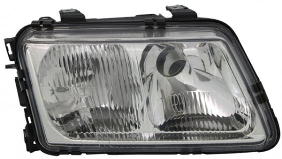 H4 / H7 Scheinwerfer rechts TYC für Audi A3 8L 96-00