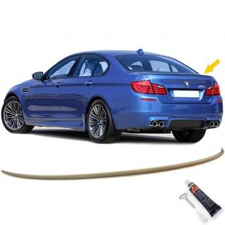 Heckspoiler Spoilerlippe Sport Optik für BMW 5er F10 Limousine ab 10