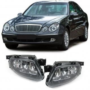 Klarglas Nebelscheinwerfer H11 Paar für Mercedes E Klasse W211 02-06 - Vorschau 1