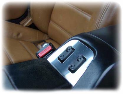 Fensterheber Blende - Edelstahl für Mazda MX 5 MX5 NA