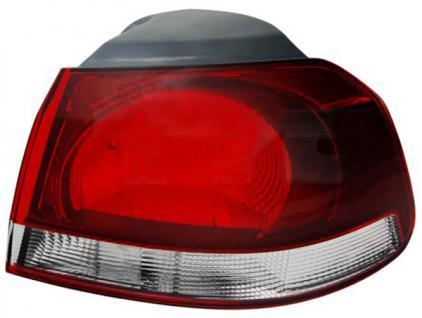 RÜCKLEUCHTE GTI OPTIK AUSSEN RECHTS FÜR VW Golf 6 Limousine 5K1 AJ5 ab 2008