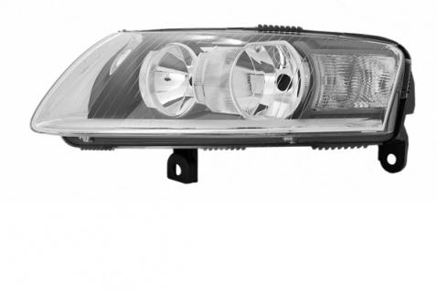 H1 / H7 Scheinwerfer links TYC für Audi A6 4F 05-08