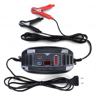 Batterie Ladegerät Erhaltung für PKW Motorrad Boot 12 Volt 4A 6-60AH